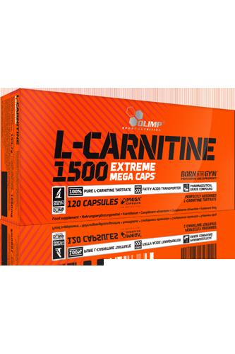 Olimp L-Carnitine 1500 – 120 Kapseln - Abbildung vergrößern!