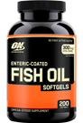 Optimum Nutrition Fish Oil Softgels - 200 Caps