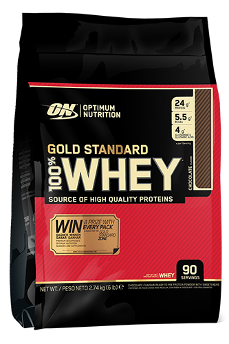 Optimum Nutrition Gold 100% Whey - 2740g