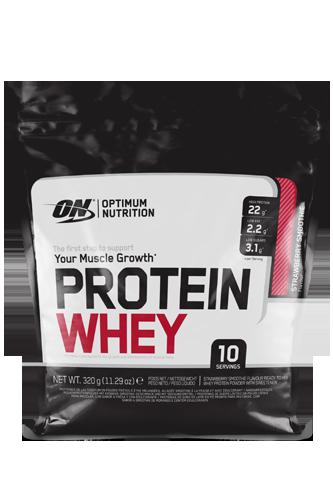 Optimum Nutrition Protein Whey - 320g - Abbildung vergrößern!