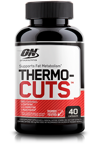 Optimum Nutrition Thermo-Cuts - 40 Caps