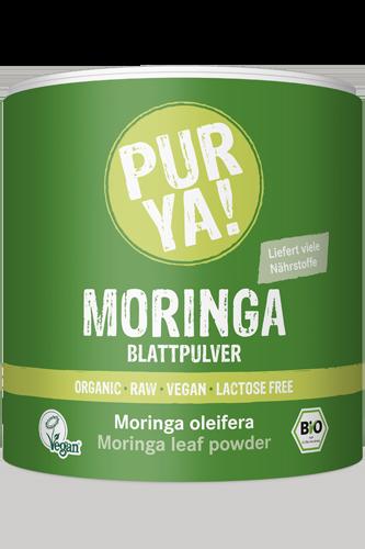 purya bio moringa pulver 150g kaufen purya bio moringa pulver 150g bestellen im muskelbody. Black Bedroom Furniture Sets. Home Design Ideas