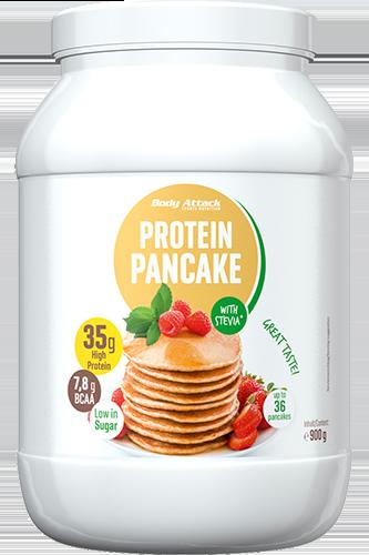 Body Attack Protein Pancake Stevia - 900g - Abbildung vergrößern!