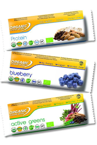 Organic Food Bar Organic Foodbar - 70g - Abbildung vergrößern!