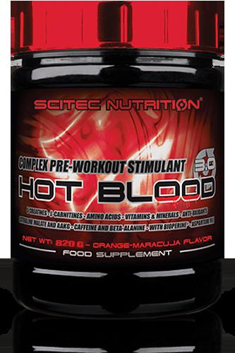 Scitec Hot Blood 3.0 - 820g - Abbildung vergrößern!