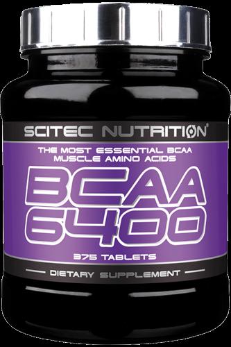 Scitec Nutrition BCAA 6400 - 375 Tabs - Abbildung vergrößern!