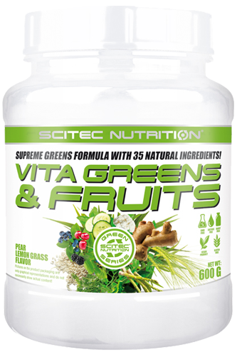 Scitec Nutrition Vita Greens & Fruits - 600g