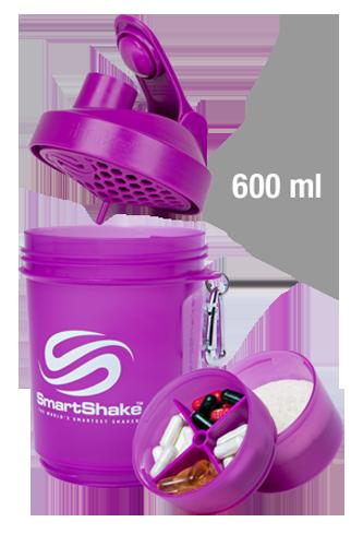 SmartShake Original Series - 600ml Neon Purple - Abbildung vergrößern!