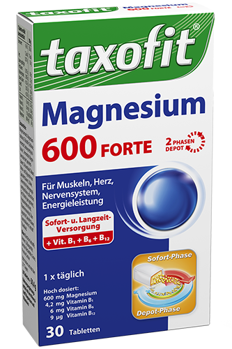 Taxofit Magnesium 600 FORTE - 30 Tabletten