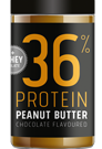 Tegua Nutrition 36% Protein Peanut Butter - 400g
