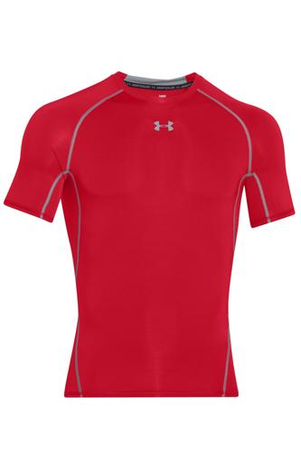 Under Armour HeatGear® Kompressions-Shirt - red - Abbildung vergrößern!