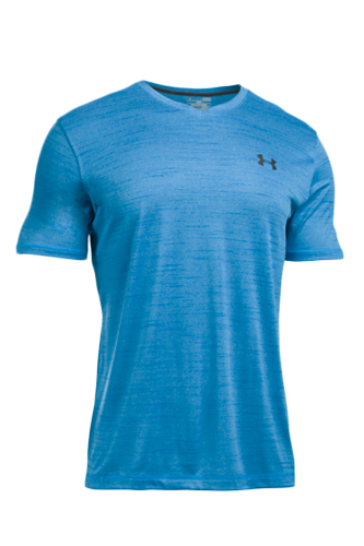Under Armour T-Shirt Herren Tech kurzärmlig - blue - Abbildung vergrößern!