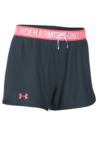 Under Armour Shorts Damen Play Up - black - Abbildung vergrößern!