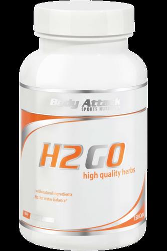 Body Attack H2GO - 150 Caps - Abbildung vergrößern!