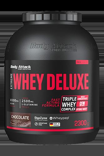 Body Attack Extreme Whey Deluxe - 2,3 kg - Abbildung vergrößern!