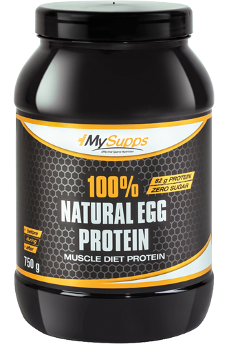 My Supps 100% Natural Egg Protein - 750g - Abbildung vergr��ern!