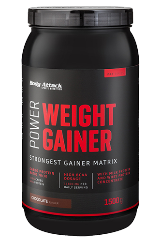 Body Attack Power Weight Gainer - 1,5kg - Abbildung vergrößern!